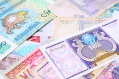 pengar uzbekistan Royaltyfria Bilder