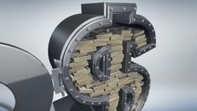 Pengarbegrepp 3D royaltyfri illustrationer