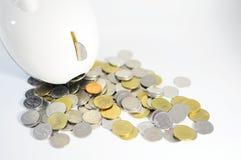 pengarbesparingar Arkivfoton