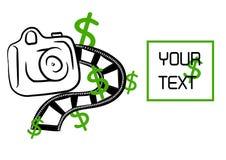 pengarbilden tar ditt Arkivbilder