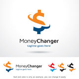 PengarChanger Logo Template Design Vector Vektor Illustrationer