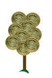 pengarett pund sterlingtree stock illustrationer