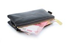 pengarfotoplånbok Arkivbild