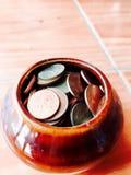 Pengarpengar arkivbilder