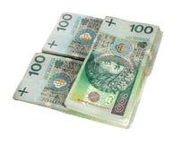 pengarpolermedel Arkivbilder