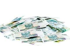 pengarpolermedel Arkivbild