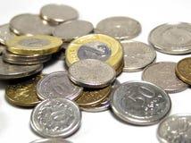 pengarpolermedel royaltyfria bilder