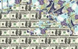 Pengarpussel Arkivbilder