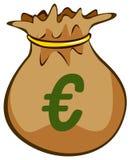 pengarsäck Arkivbilder