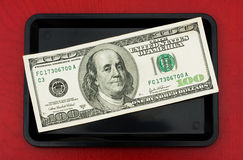pengarspets royaltyfria bilder
