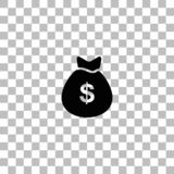 Pengarsymbolsl?genhet stock illustrationer