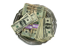 pengaruppläggningsfatöverkant arkivfoton