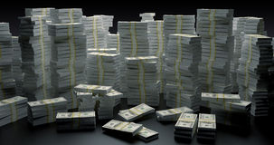 Pengarvägg Royaltyfria Bilder