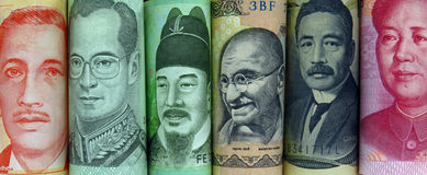 Pengarvärld Royaltyfri Fotografi