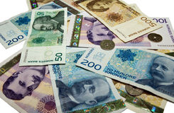 Penger de Norsk Imagenes de archivo