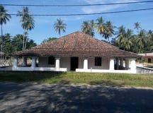 Pengkalan Kakap老和新的清真寺在Merbok,吉打 免版税库存图片