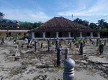 Pengkalan Kakap老清真寺在Merbok,吉打 库存图片