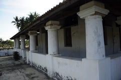 Pengkalan Kakap老清真寺在Merbok,吉打 图库摄影