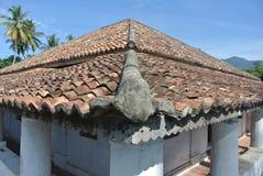 Pengkalan Kakap老清真寺在Merbok,吉打 免版税库存照片