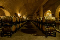 Penglai City in Shandong Province Junding wine estate cellar Royalty Free Stock Image