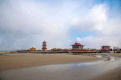 Penglai City, Shandong Province, Penglai city Royalty Free Stock Photo