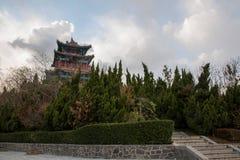 Penglai-Stadt, Shandong Provinz Danya Mountain Hop HaiTing Stockfoto