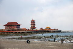 Penglai-Stadt, Shandong Provinz, Penglai-Stadt Lizenzfreie Stockfotos