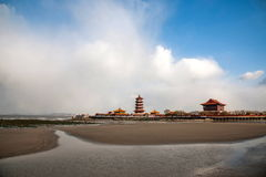 Penglai-Stadt, Shandong Provinz, Penglai-Stadt Stockfotografie