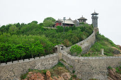 Penglai Water Fortress China royalty free stock photos