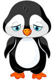 penguin λυπημένος Στοκ Εικόνα