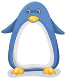 Penguin. Ilustration of isolated penguin on white background Stock Photos