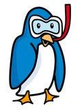 Penguin. Stylized cartoon penguin - vector illustration Stock Photos