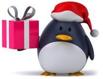 Penguin. Fun penguin, 3d generated picture Stock Photos