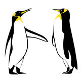 Penguin. Vector image of a penguin Royalty Free Stock Photo
