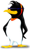 Penguin. Bird agent alluring attractive bird royalty free illustration