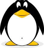 Penguin. The image of the penguin executed in a vector vector illustration