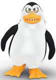 Penguin angry Royalty Free Stock Photos