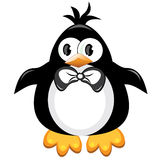 Penguin cartoon bird. Boy. Royalty Free Stock Photo