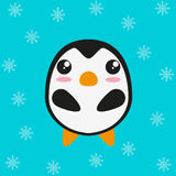 Penguin cartoon character Royalty Free Stock Photo