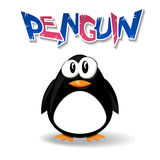 Penguin cartoon Royalty Free Stock Images