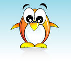 Penguin Cartoon Style Royalty Free Stock Photo