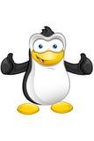 Penguin Character Royalty Free Stock Photo