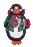 Penguin christmas decoration Stock Photography