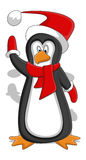 Penguin - Christmas Vector Illustration Royalty Free Stock Images