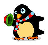 Penguin so cute Stock Images