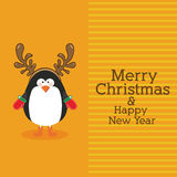 Penguin design Stock Images