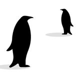 Penguin friendship symbol loyalty Royalty Free Stock Image