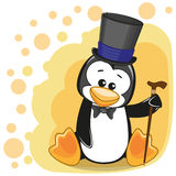 Penguin in hat Royalty Free Stock Photo