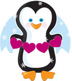 Penguin Heart Stock Images