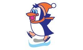 Penguin Ice Skate Royalty Free Stock Photos